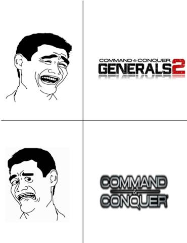 Generals 2, yes, Command & Conquer, No!